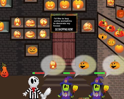 Halloween áruház