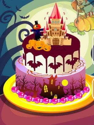 Süss halloween tortát!