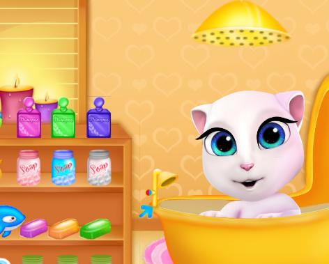 Angela cica fürdik