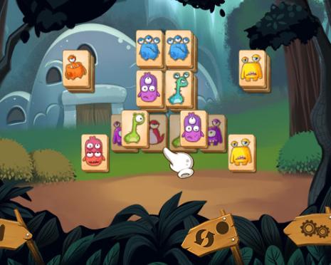 Szörnyecskés mahjong