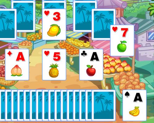 Gyümölcsös kártyák