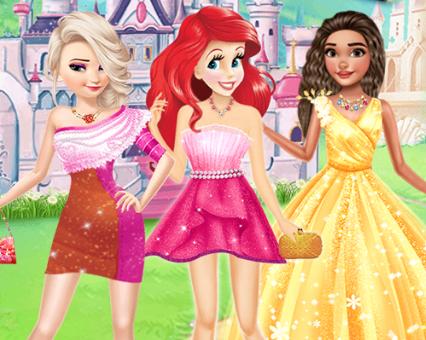 Hercegnők új ruhakölteményei