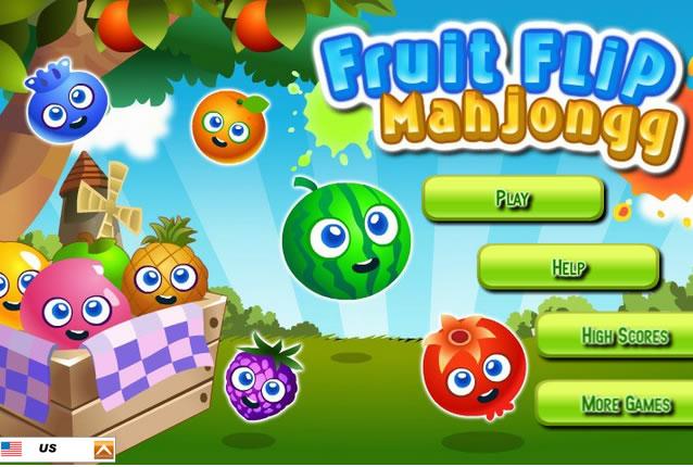 Mahjong gyümölcsökkel